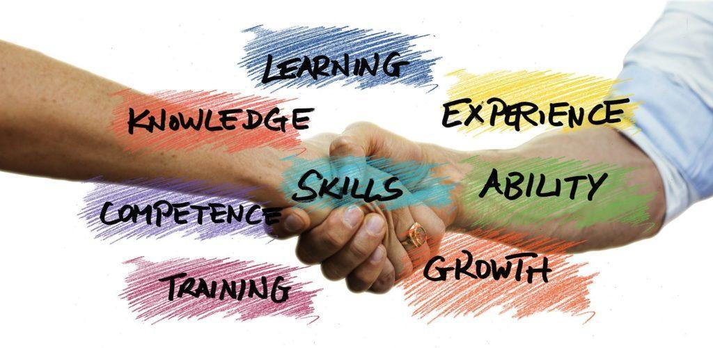 Kuvituskuva yhteistyöstä vaadittavista taidoista. Kuva: Pixabay